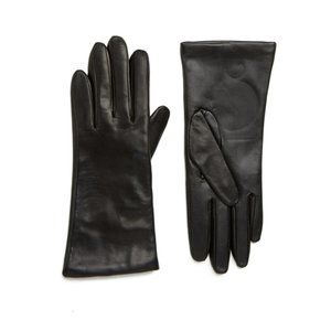 Nordstrom Cashmere Lined Leather EZ Touch Gloves